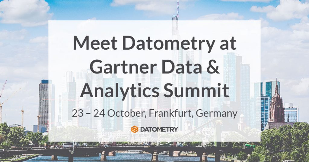Datometry at Gartner Frankfurt